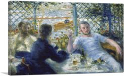 Lunch at the Restaurant Fournaise - The Rowers' Lunch 1875