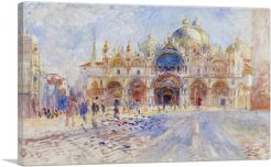 The Piazza San Marco in Venice 1881