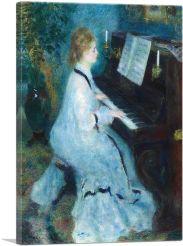 Woman at the Piano 1876