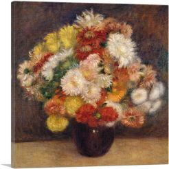 Bouquet of Chrysanthemums 1881