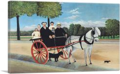 The Horse-Drawn Carriage of Father Junier 1908