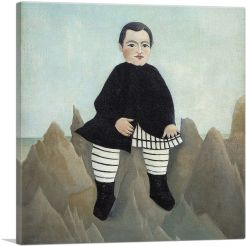 Boy On The Rocks 1897