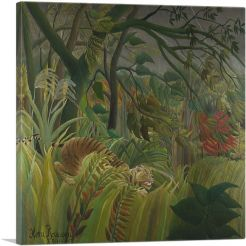 Tiger in a Tropical Storm - Surprised 1891