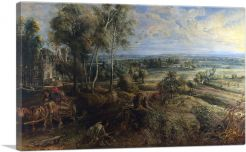 An Autumn Landscape With a View of Het Steen in the Early Morning 1636