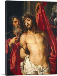 Christ with the Crown of Thorns-1-Panel-40x26x1.5 Thick