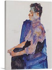 Portrait of Anton Peschka 1911