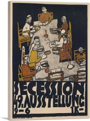 Poster For The Vienna Secession 1918