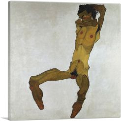 Seated Male Nude 1910