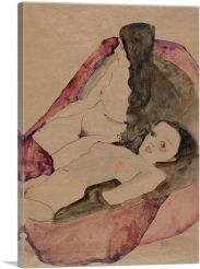 Two Reclining Nudes 1911