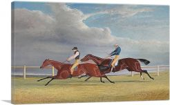 The Finish of the 1827 St Leger