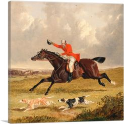 Foxhunting - Encouraging Hounds
