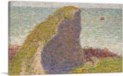 Study for Le Bec du Hoc - Grandcamp 1885