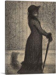 Woman Strolling 1884