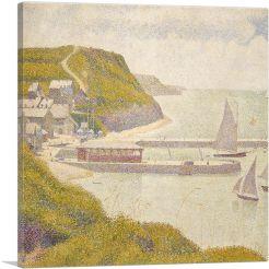 Harbour at Port-en-Bessin at High Tide 1888