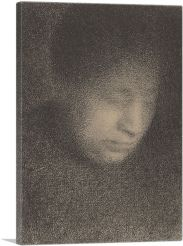 Madame Seurat -  the Artist's Mother 1883