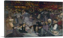 Le Bal Du 14 Juillet 1889