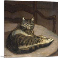 Cat on a Chair 1900