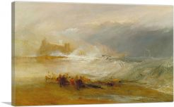 Wreckers Coast Of Northumberland 1834