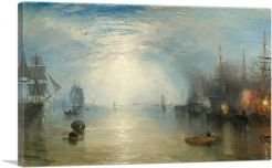 Keelmen Heaving in Coals by Night 1835