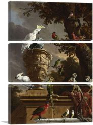 The Menagerie 1690-3-Panels-90x60x1.5 Thick