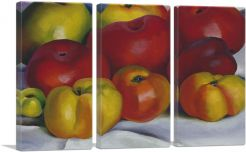 Apple Family 1920-3-Panels-90x60x1.5 Thick