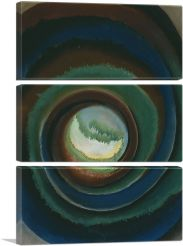 Pond in the Woods 1922-3-Panels-90x60x1.5 Thick