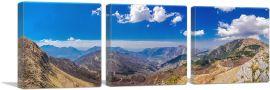 Mountain Range in Albania-3-Panels-48x16x1.5 Thick