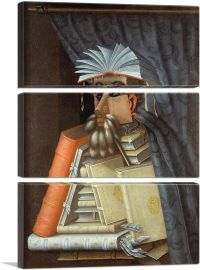 The Librarian 1562-3-Panels-90x60x1.5 Thick
