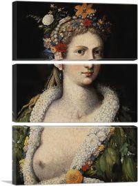 Flora Meretrix 1590-3-Panels-90x60x1.5 Thick
