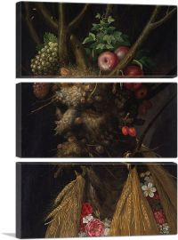 Four Seasons in One Head 1590-3-Panels-90x60x1.5 Thick