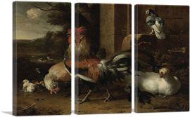 Henhouse 1665-3-Panels-90x60x1.5 Thick