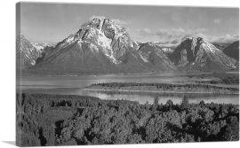 Mount Moran - Grand Teton National Park - Wyoming