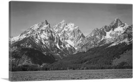 Snow Covered Peaks - Grand Teton National Park - Wyoming