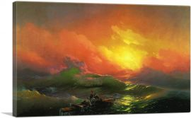 The Ninth Wave Highlighted Sun 1850 - Full Color