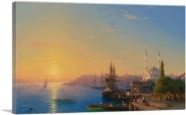 View of Constantinople and the Bosphorus 1856