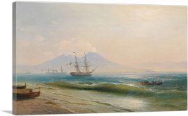 View of Mount Vesuvius 1878