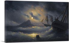 Gibraltar by Night 1844