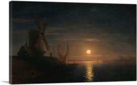 Moonlight over the Dnieper 1858
