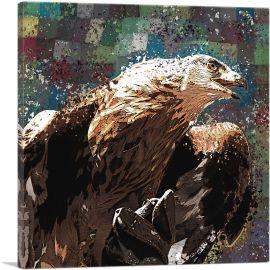 Golden Eagle of Albania Blue Green