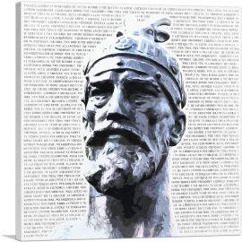 Skanderbeg - George Castriot Albania Bust National Anthem