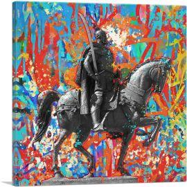 Skanderbeg Monument - George Castriot Albania Graffiti