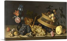 Still Life of Flowers, Fruit, Shells, and Insects 1629