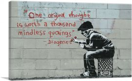 One Original Thought Worth a Thousand Quotings