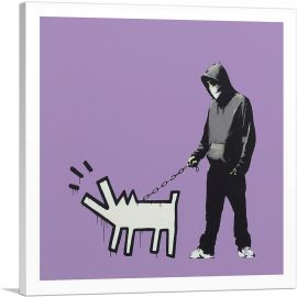 Choose Your Weapon Keith Haring Dog - Purple