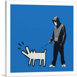 Choose Your Weapon Keith Haring Dog - Blue