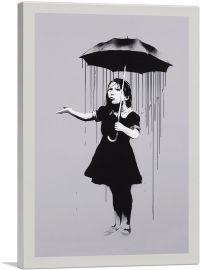 Nola Girl With Umbrella