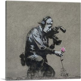Camera Man & Flower