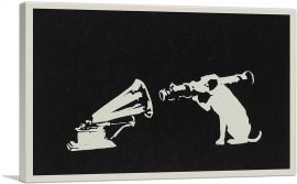 Black White Hmv Rocket Dog