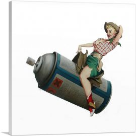 Spraycan Rodeo Girl
