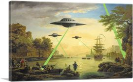 Flying Saucers Aliens